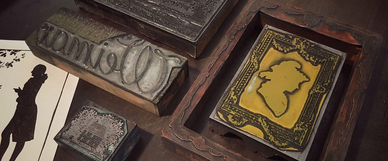 Letterpress-Kurs: Goethe über Buch und Schrift