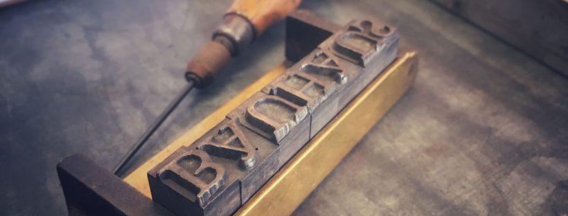Letterpress-Kurs zum Thema Bauhaus