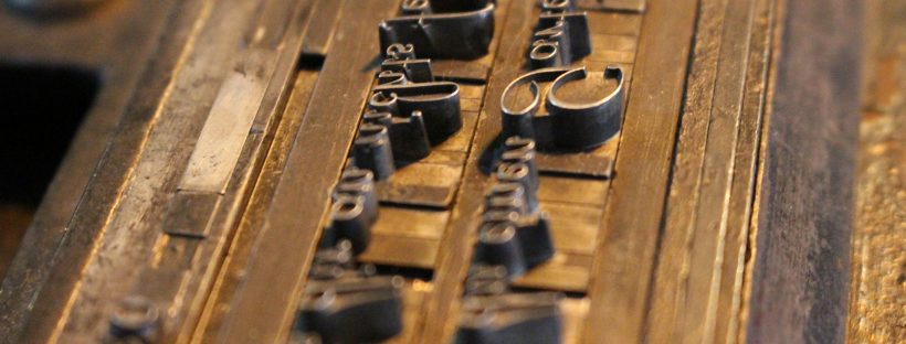 Letterpress-Kurs: Lesezeichen